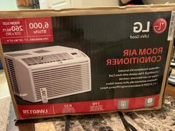 LG LW6017R 6000 BTU Window Air Conditioner - White