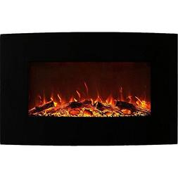 Regal Flame Madison 35 Inch Ventless Heater Electric Wall Mo