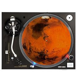 Mars - DJ Turntable Slipmat