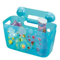 mDesign Baby Bathroom Shower Suction Caddy Basket Toy Storag