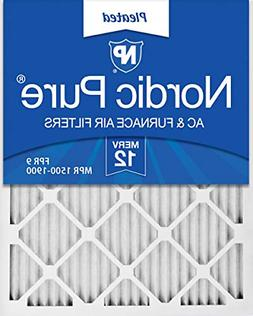 Nordic Pure 16x25x1 MERV 12 Pleated AC Furnace Air Filter, B