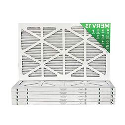 14x25x1 MERV 13  AC Furnace Air Filters. Box of 6