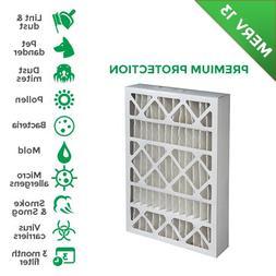"16x25x4 MERV 13 AC Furnace 4"" Inch Air Filters. 2 Pack"