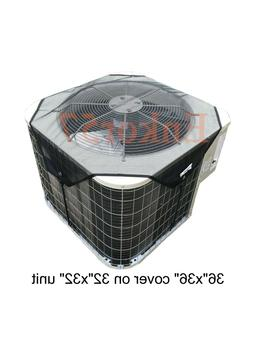 Mesh Air Conditioner Cover Outdoor - Top Summer Central AC D
