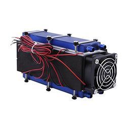 Mini Air Conditioner,DC 12V 576W 8-Chip TEC1-12706 DIY Therm
