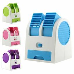 Mini Air Conditioner Cooler Cooling Desktop Portable Fan Hum