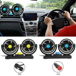 Mini Electric Car Air Cooling Fan Air Conditioner 360 Degree