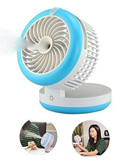 Mini Portable Fan, Portable USB Mini Table Fan with 2000mAh