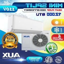 AUX Mini Split 12000 BTU 15 Seer System Ductless AC Heat Pum
