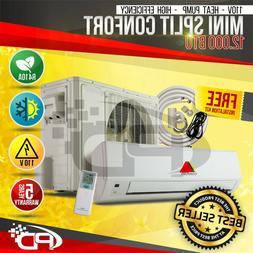 12000BTU Mini Split Confort System Ductless AC Heat Pump 110