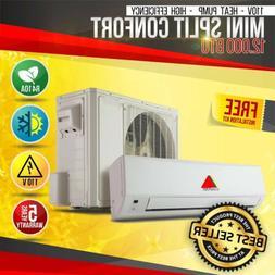 12000BTU MINI SPLIT CONFORT SYSTEM DUCTLES AC HEAT PUMP 110V