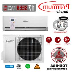12000 BTU Air Conditioner Mini Split 17 SEER INVERTER AC Duc
