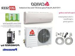 Mini Split 12000 BTU Ductless Heat Pump Air Conditioner with