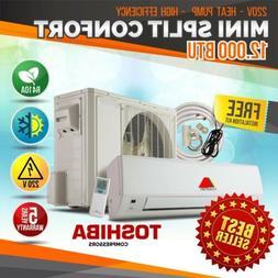 CONFORT MINI SPLIT 12000BTU SYSTEM DUCTLES AC HEAT PUMP 220V