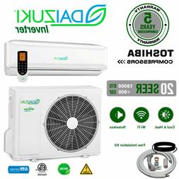 18000 BTU Air Conditioner Mini Split 16.9 SEER AC Ductless O