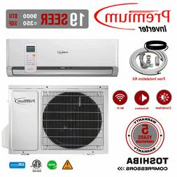 mini split 9000 btu 17 seer inverter