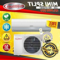 Premium Mini Split AC System Ductless 12000 BTU  16Seer ONLY