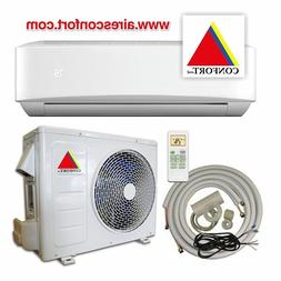 mini split air conditioner 12000 BTU with heat pump ductless