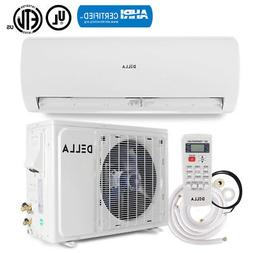 DELLA 18,000 BTU  Ductless Wall Mount Mini Split System AHRI