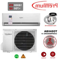 18000 BTU Air Conditioner Mini Split AC Ductless ONLY COLD 2