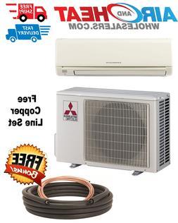 Mitsubishi Mini Split Heat Pump Inverter 24000 BTU 18 SEER *