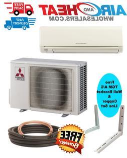 Mitsubishi Mini Split Heat Pump Inverter 24K BTU 18 SEER WAL