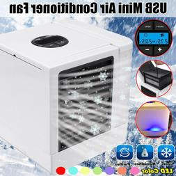 Mini USB Digital Air Conditioning Conditioner Fan Low Noise