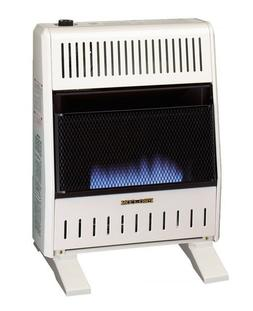 ProCom MNSD200TBA-BB Dual Fuel Blue Flame Ventless Wall Heat