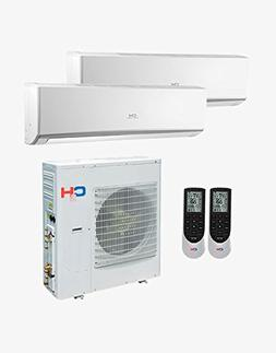 Cooper&hunter +Multi Dual-zone Ductless Mini-split System 30