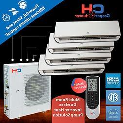 Multi Quad-zone Ductless System 36 000 Btu Inverter Heat Pum