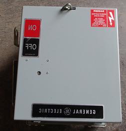 General Electric GE AC361RG Plug Unit 30A 240V 3Ph 4W  NEW S