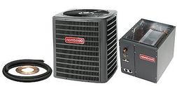 New Goodman 3 Ton 13 Seer Central Air AC Add On GSX130361 +