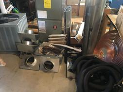 NEW Rheem 4 Ton heat air conditioner Complete System RHSA-HM
