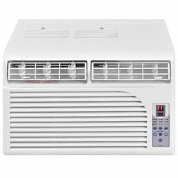 New 6K BTU White Compact 115V Window-Mounted Air Conditioner
