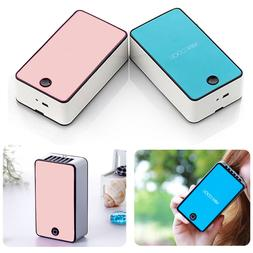 New Mini Portable USB Rechargeable Hand Held Air Conditioner