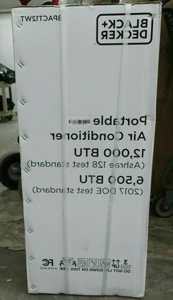 Black + Decker BPACT12WT Portable Air Conditioner 12,000 BTU
