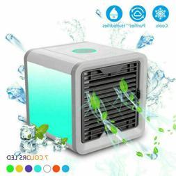 New Portable Mini Desktop Air Conditioner USB Fan Cooling Ev