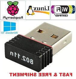 New Realtek Mini USB Wireless 802.11B/G/N LAN Card WiFi Netw