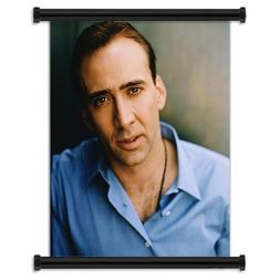 Nicolas Cage Sexy Fabric Wall Scroll Poster  Inches