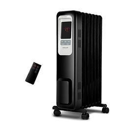 PELONIS PLN978-B Oil Filled Radiator Space Heater, Black