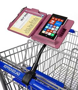 GalsShopper Pink - All In 1 Shopping Organizer, 1 Clip On An