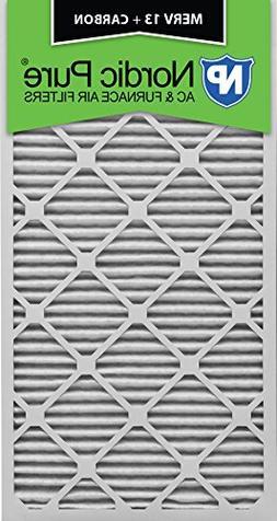 12x30x1 Pleated MERV 13 Plus Carbon Qty 3