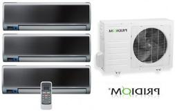 Pridiom PMD345HTX High Wall Series Tri Zone System with 9 00