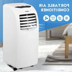 Portable 10000BTU Air Conditioner Dehumidifier Function Remo