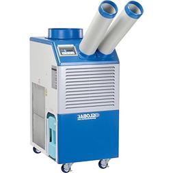Industrial Portable AC, 2 Ton w/Cold Air Nozzles 21,000 BTU,