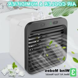 Portable Air Conditioner Cooler Fan Desk Evaporative Humidif