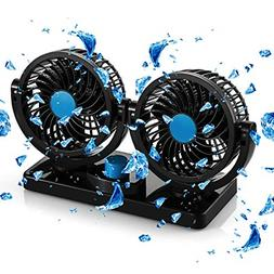 Portable Air conditioner For Car Auto Cooling Fan Rotatable