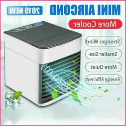 Portable Air Conditioner Fan Mini Cool Bedroom Desk Cooler C