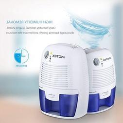 Portable Electric 500ml Home Air Dehumidifier Quiet Moisture