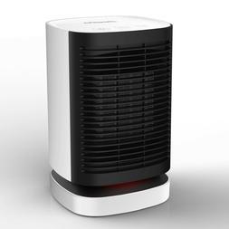 Portable Electric Ceramic Space Heater Super Quiet Design Au